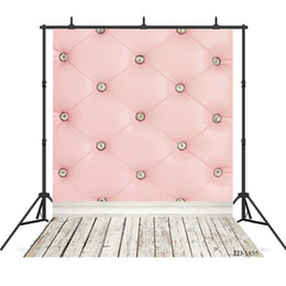 Discount new for board pink board wooden floor Vinyl photography background for Portrait children kids baby new born backdrop photocall