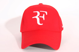 Fan cooled hat online shopping - 2019 the Embroidery newest NEW Men Summer Cool Hat Roger Federer RF Tennis Fans Caps Cool Summer Baseball Tennis Sport Hat Men Baseball Cap