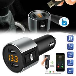 $enCountryForm.capitalKeyWord Australia - Bluetooth Car USB Charger FM Transmitter Radio Adapter MP3 Player Quick Charge