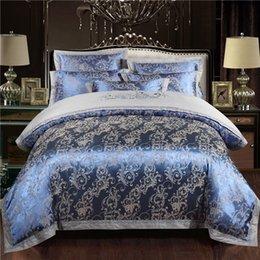 Toptan satış Kraliçe kral Yatak Seti Lüks Pamuk Nevresim Nevresim Monte yaprak yatak örtüsü seti parure de yaktı ropa de cama bedclothes
