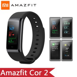 $enCountryForm.capitalKeyWord Australia - XiaoMi Huami Amazfit Cor 2 Band 2 Smart wristband Waterproof 5ATM 2.5D IPS Stainless Steel Frame men watch For Android IOS GPS