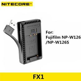 $enCountryForm.capitalKeyWord Australia - Nitecore FX1 USB charger Dual Slot For NP-W126 NP-W126S Camera Battery X-Pro1 X-T1 XE1 XA1 HS30 X-T2 X-E2S XM1 X-PRO2
