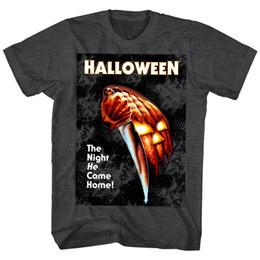 $enCountryForm.capitalKeyWord Australia - Halloween Horror Movie Poster The Night HE Came Home Men's T Shirt Knife Mask Men Women Unisex Fashion tshirt Free Shipping