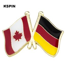 Home & Garden Arts,crafts & Sewing Australia Indonesia Friendship Flag Label Pin Metal Badge Badges Icon Bag Decoration Buttons Brooch For Clothes 1pc