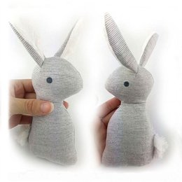 Baby Rattle Rabbit Australia - HOT super cheap rattle but HIgh quality Mamas Papas baby rattle infant BB toys rattle Lovely baby Stuffed rabbit BB toy CX881651