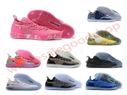 outdoor air cooler Canada - 2020 Hococal New KD 11 Aunt Pearl Pink Paranoid Cool Grey EYBL Kevin Durant XI Mens Basketball Shoes Top 11s KD11 Foam Sneakers