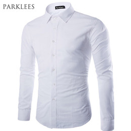 $enCountryForm.capitalKeyWord Australia - Brand White Men Shirt Long Sleeve Chemise Homme 2016 Fashion Business Design Mens Slim Fit Dress Shirts Casual Camisa Social T2190608