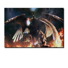 $enCountryForm.capitalKeyWord NZ - Fallen Angel Vs Demon,HD Canvas Printing New Home Decoration Art Painting (Unframed Framed)