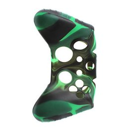 China 2019 For XBOXone Soft Silicone Flexible Camouflage Rubber Skin Cases Cover For Xbox One Slim Controller Grip Cover supplier xbox rubber suppliers