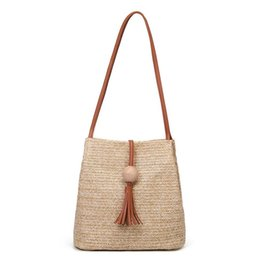 $enCountryForm.capitalKeyWord Australia - Yfashion Straw Bag Women Handbag Bohemia Beach Bags Handmade Wicker Summer Tote Bags Rattan Shoulder For Women 2019