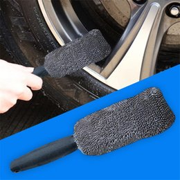 $enCountryForm.capitalKeyWord Australia - Long Handle Tire Brush Car Cleaner Small Brush Plating Wheel Hub Car Wash Paint Care Auto Cleaning Tool Clay Cloth Towel