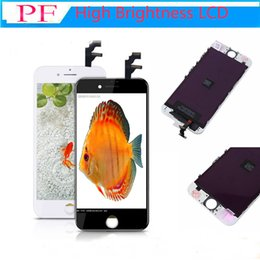 Iphone Screen Testing Australia - Top Quality Tianma LCD Display High Brightness Pass Sunglasses Test Touch Digitizer Complete Screen Full Assembly Replacement for iPhone 6