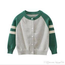$enCountryForm.capitalKeyWord Australia - 2019 Brand New Kids Sweater Autumn Children Polo Cardigan Coat Baby Boys Girls single-breasted jacket Sweaters outer wear 1412