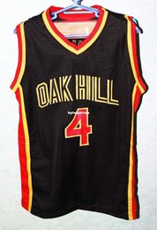 beabdd81bc2a Cheap custom RAJON RONDO  4 OAK HILL High School Basketball Jersey Stitched  Customize any size and name NCAA