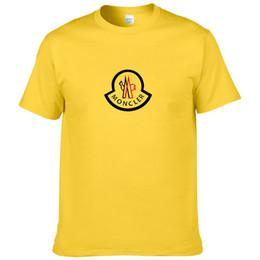 Ingrosso Mens Designer magliette maglietta di estate di lusso della gru di stampa Designer maglietta di Hip Hop Uomo Donna Moda manica corta Tees formato S-XXL