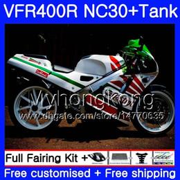 $enCountryForm.capitalKeyWord NZ - Kit For HONDA RVF400R V4 VFR400R 1989 1990 1991 1992 1993 269HM.38 VFR400 RVF VFR 400 R NC30 VFR 400R green white hot 89 90 91 92 93 Fairing