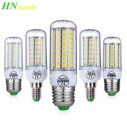 $enCountryForm.capitalKeyWord Australia - HaoXin E27 E14 LED Bulb SMD5730 220V Corn Bulb 24 36 48 56 69 72LEDs Chandelier Candle Light For Home Decoration Ampoule