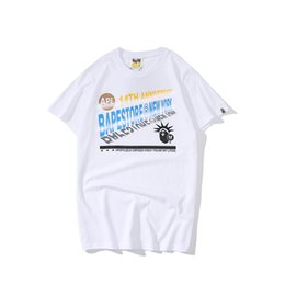 $enCountryForm.capitalKeyWord UK - 19ss summer Men's Designer Design T-Shirt Fashion Letter Print T-Shirt Men's and Women's High Quality Casual Black and White Size