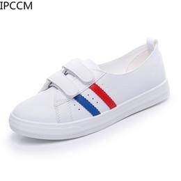 $enCountryForm.capitalKeyWord Australia - Female 2019 New Spring Korean Version Of Non-slip Breathable Simple Nurse Soft Bottom Low To Help Flat Lazy Little White Shoes