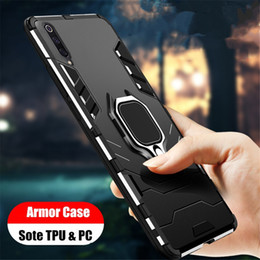 Discount samsung galaxy phone series Carbon Fiber Texture Phone Cover hockproof Case For Samsung Galaxy A50 A30 A20 A10 A70 A40 A80 A60 etc series