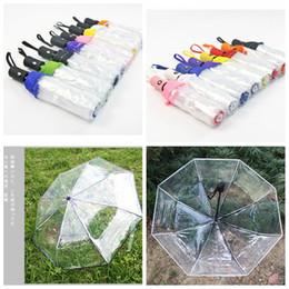 $enCountryForm.capitalKeyWord Australia - Transparent Paraguas Automatic Umbrella Rain Women Men Sun Rain Auto Paraguas Compact outdoor Folding Windproof Clear umbrella FFA2277