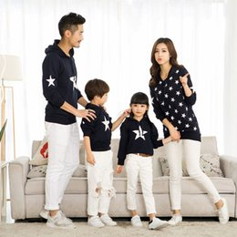 Matching Clothes Mom Son Australia - 2 Colors Cotton Printing Long Sleeve Father Mom And Son Pullover Sweater Matching Mother Daughter Clothes Family Clothing Y19051103
