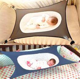 d12776e8b Infantil Hamaca Impreso Bebé Desmontable Protable Plegable Cuna Algodón  Recién Nacido Cama para dormir Jardín Al aire libre Oscilación