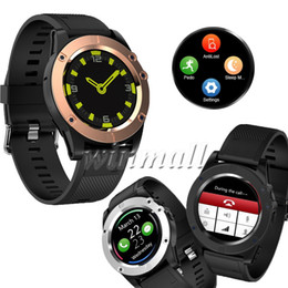 touch screen for kids UK - 50pcs F18 Sport Smart Watch 1.2 inch Circle Touch Screen with Camera Support SIM Card TF Card Bluetooth Smartwatch Fitness Tracker