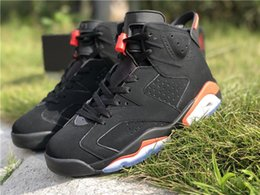 Star Canvas Shoe For Men Australia - 2019 New UNC 6 Black Infrared 3M Basketball Shoes For Men 6s All-Star Outdoor Designer Trainer 384664-060 With Box