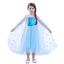 Knee length glitter dresses online shopping - Princess Dress Girl Kids Short Sleeve Sequins Glitter Patchwork Cosplay Princess Dress Skirt Kids Clothing OOA6894