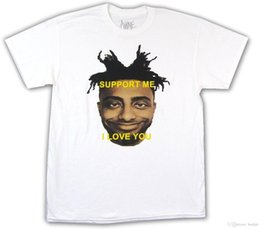 Großhandel Amin Motivation Support Me Ich Liebe Dich Weißes T-Shirt New Official Merch