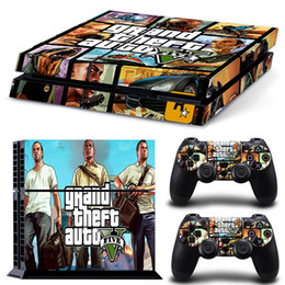 Playstation controller covers online shopping - Fanstore Skin Sticker Protective Decal Cover Grdand Theft for Playstation PS4 Console and Remote Controller Hot Sale Design