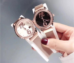 Wrist Watches Logos Australia - Famous logo watch ladies exquisite diamond dial women dress diamond quartz wrist watch milan watchband 36mm