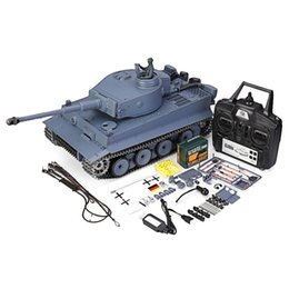 pro gear Australia - 6.0 Pro Version 2.4G 1800mah 7.4V 1:16 2.4G Germany Tiger I Remote Control RC Battle Tank Metal Track RTR Car Model Toys