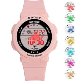 $enCountryForm.capitalKeyWord Australia - Men Women unisex watch Electronic Sports Watch Waterproof Digital with Colorful LED Backlight LL@17