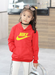 Nk Clothing Australia - 2019 spring children's clothing children's sweater cotton hooded casual boys and girls head children's shirt huang nk