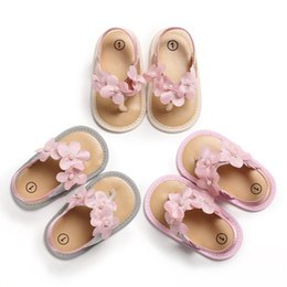 $enCountryForm.capitalKeyWord Australia - New Summer Cute Baby Girls Garden Sandals Breathable Anti-Slip Flower Design Shoes Sandals Soft Soled Princess Shoes