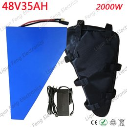 $enCountryForm.capitalKeyWord Australia - 48V 1000W 1500W 2000W Battery pack 48V 35AH Electric Bike Battery 48V 35AH lithium ion Battery use LG Cell With Charger Free Tax.