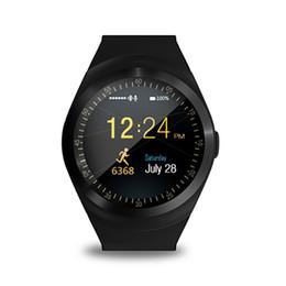 $enCountryForm.capitalKeyWord Australia - Smart watch Y1 Bluetooth sports fitness tracker anti-lost multi-function watch support sim card for ios Android smartphone