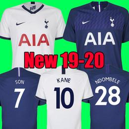 manning 18 jersey 2019 - 18 19 20 KANE NDOMBELE Soccer Jersey 2019 2020 LUCAS SPURS ERIKSEN DELE SON TOTTENHAM jersey Football kit shirt Men and