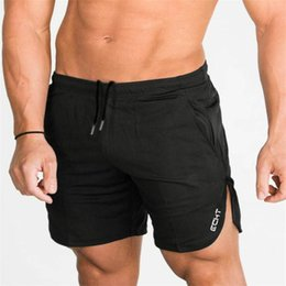 Elastic gym ExErcisEs online shopping - 2019 Summer Running Shorts Men Fitness Crossfit Gym Shorts Cotton Sport Shorts Workout Jogging Training Exercise Sweatpants MX190718