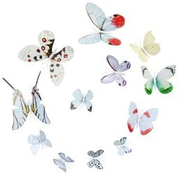 magnet fridge stickers Australia - 12x 3D Butterfly Wall Sticker Fridge Bedroom Living Room Decoration Magnet House Decor Decal Applique#A