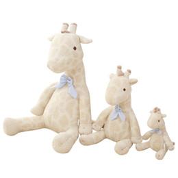 $enCountryForm.capitalKeyWord Australia - Giraffe Plush Toy Appease Doll Fawn Stuffed Animals Cloth Baby Cute Christmas Gift Multi Size 46my F1