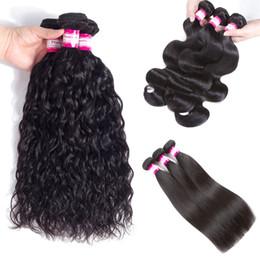 Filipino Straight Hair Australia - Malaysian Filipino Peruvian Body Wave Virgin Hair Bundle Deals 8A Brazilian Straight Water Wave Remy Human Hair Extensions 3 4 5pcs Dyeable
