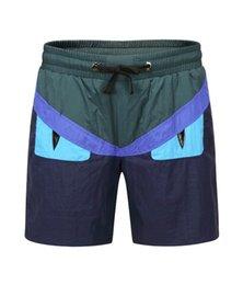 Air Pants Australia - Shore Pants 2019 Men's Speed Dry Five-point Pants Summer Air-permeable Leisure Three-point Pants