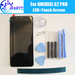 Lcd Touch Screen S2 Australia - UMIDIGI S2 PRO LCD Display+Touch Screen 100% Original Tested LCD Digitizer Glass Panel Replacement For UMIDIGI S2 PRO