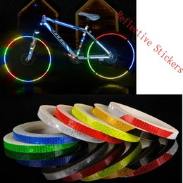 Back To Search Resultssecurity & Protection Roadway Safety 50mm X 3m Reflective Bicycle Stickers Adhesive Tape For Bike Safety Reflective Bike Stickers Bisiklet Decals