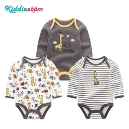 $enCountryForm.capitalKeyWord Australia - Girls Clothes Newborn Unicorn Baby Boy Clothes Bodysuit Cotton Baby Girl Clothes 0-12M Girls Baby Sets BabyWear Jumpsuits