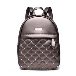 $enCountryForm.capitalKeyWord Australia - Women Backpack Hot Sale Fashion Causal bags High Quality bead female shoulder bag PU Leather Backpacks for Girls mochila