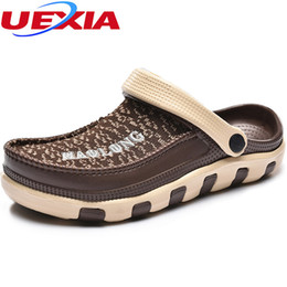 $enCountryForm.capitalKeyWord Australia - UEXIA Summer New Soft Bottom Beach Sandals Men Shoes Driving Shoes Mens Jelly Casual Sandals Superstar Fashion Breathable Flats